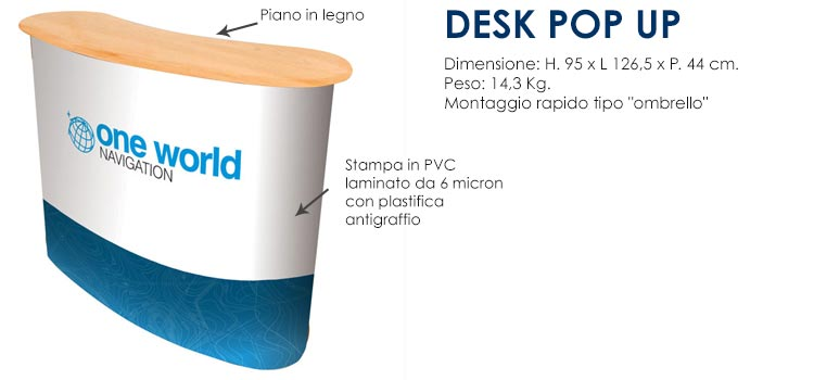 Desk POP UP