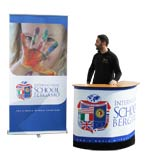 Roll up - 200x100 e banchetto - Bergamo school