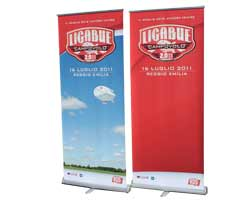 Espositori pubblicitari - Roll up banner