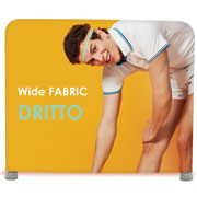 Wide Fabric banner dritto modello 235