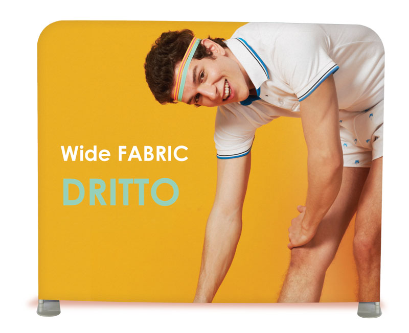 wide fabric banner dritto
