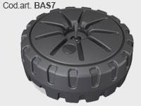 BAS7 - Base per bandiere zavorrabile per esterno con carico fino a 30 L.
