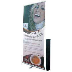 roll up banner standard 200x85 cm - BOX