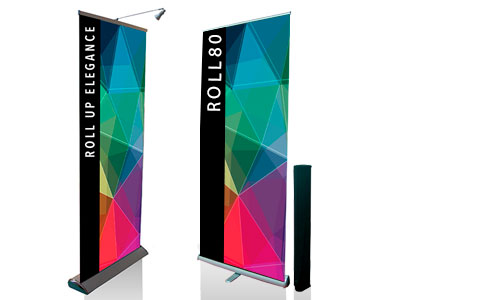 Roll up banner - espositori pubblicitari
