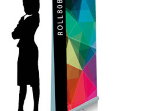 Roll up standard bifacciale 200×80 cm