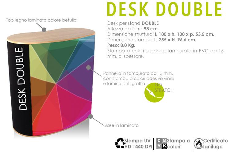 Desk double
