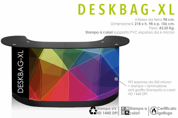 Banco reception fiera - deskbag XL