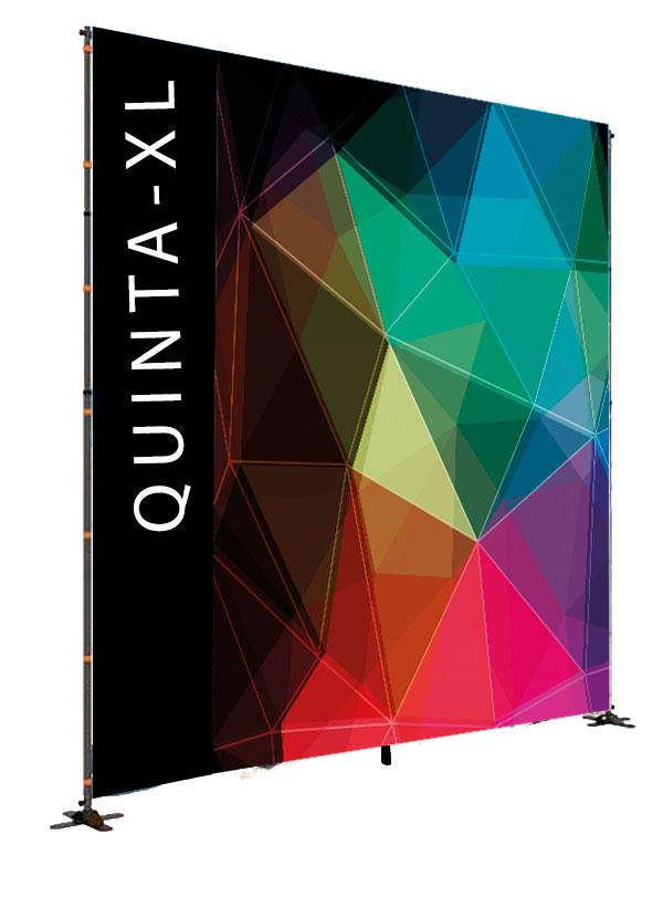 Quinta XL - stand pubblicitario di grande formato