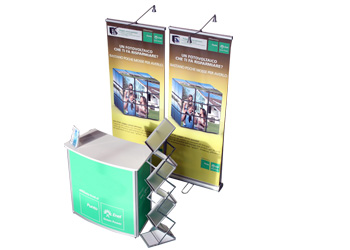 Stand promoter BOX