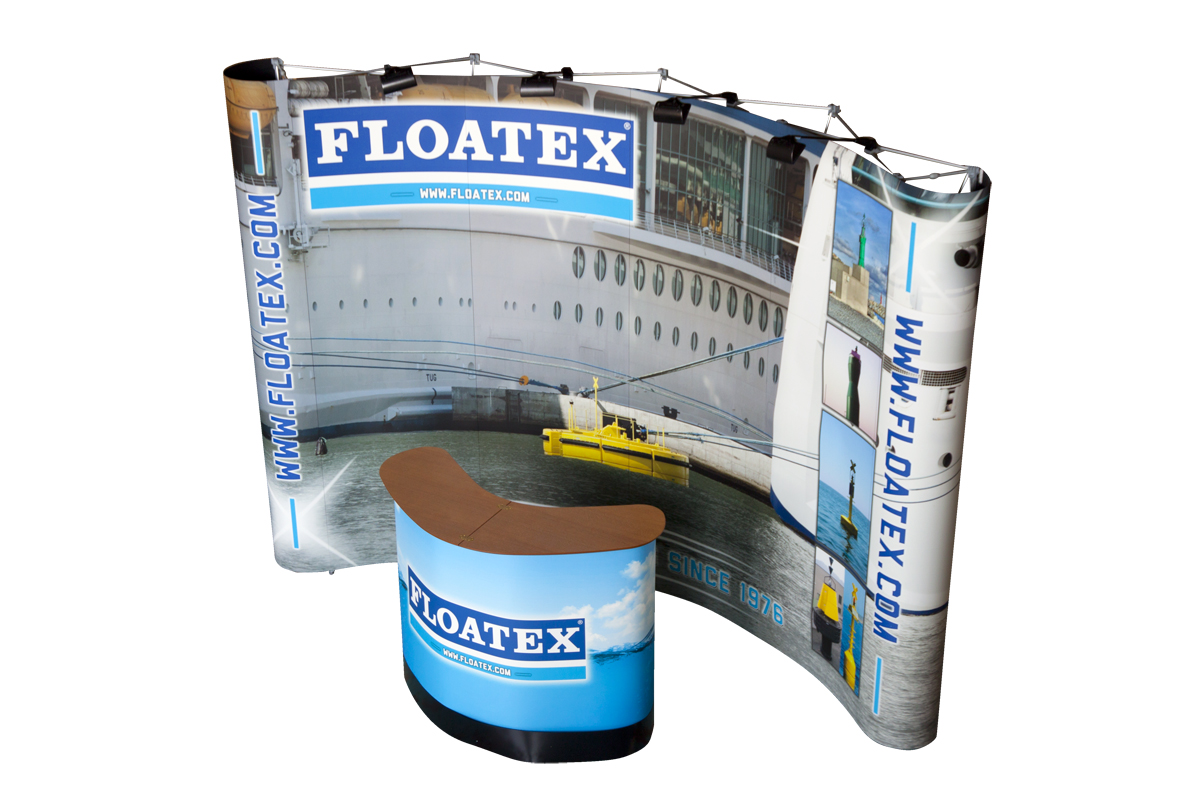 stand promozionale FLOATEX