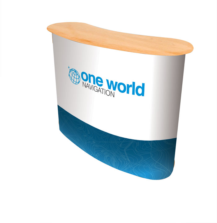 desk pop up one world