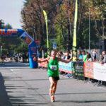 maratona - arrivo con flag