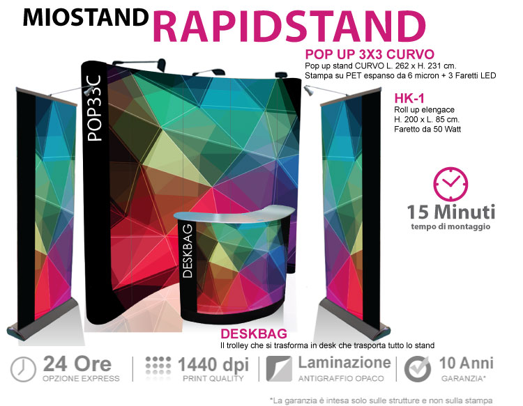 stand portatile rapidstand