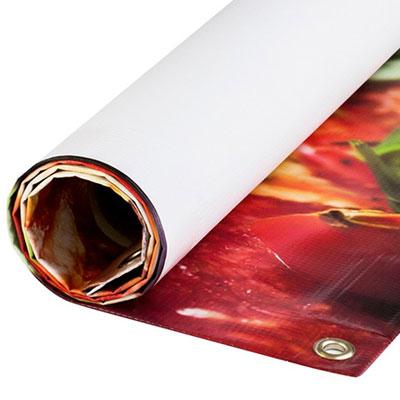 stampa digitale grande formato PVC BANNER