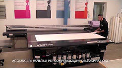 Mimaki UV LED flatbed JFX200