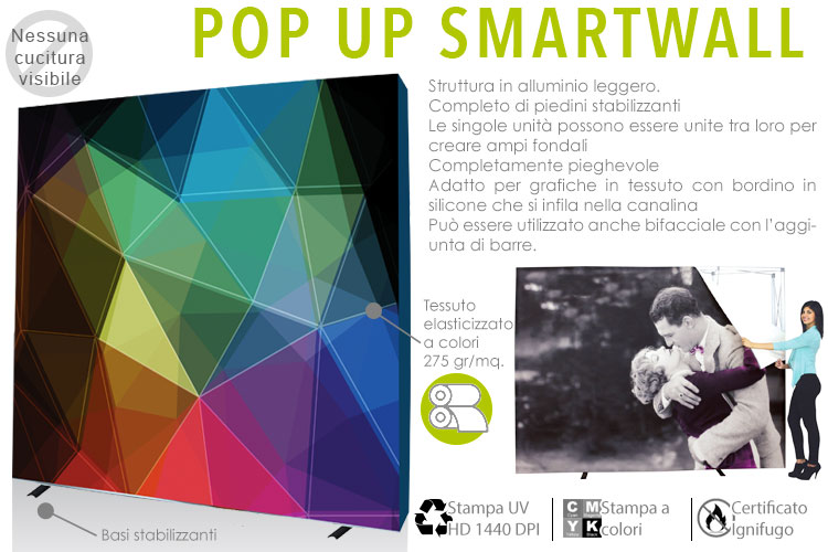 Pop up SmartWall