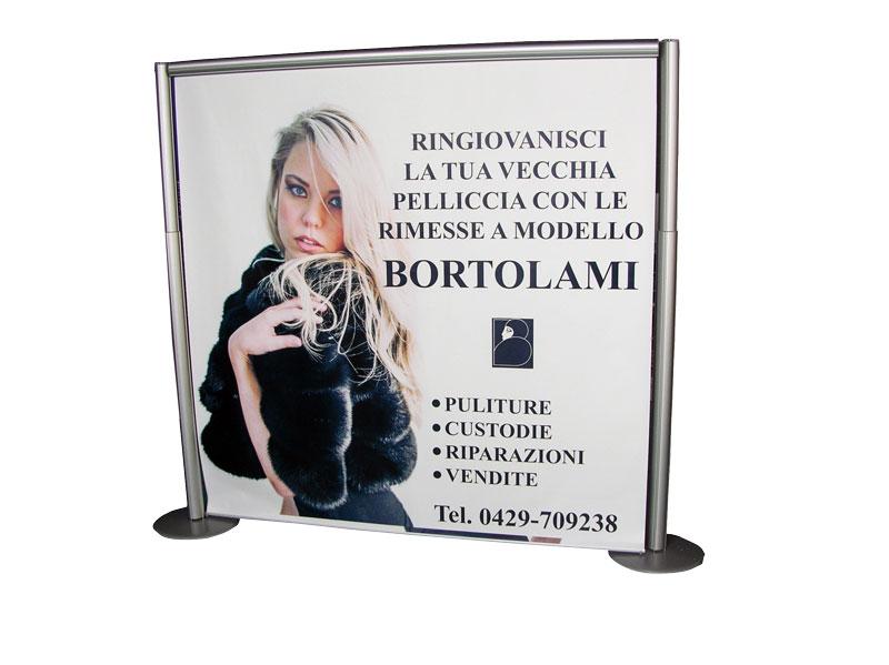 Separè - BORTOLAMI - L. 200 x H. 200 cm.