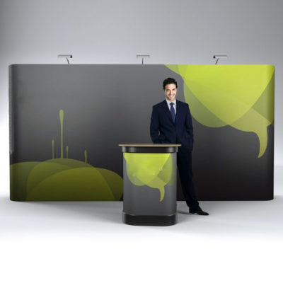 Pop up stand 3x5 - Dritto