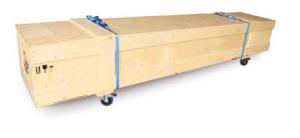 Cassa in legno per trasporto STAND