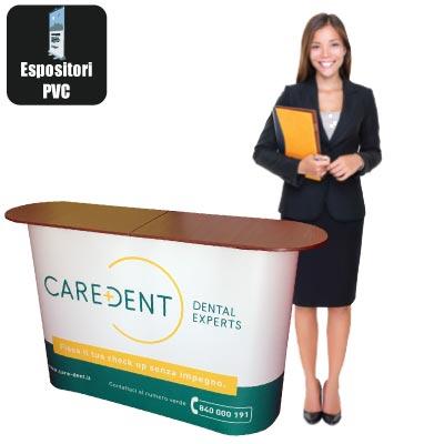 Deskpet - desk L. 150 con stampa in PET a colori