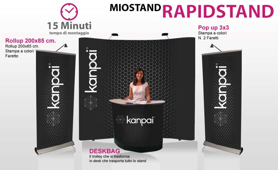 Stand portatile - Rapidstand