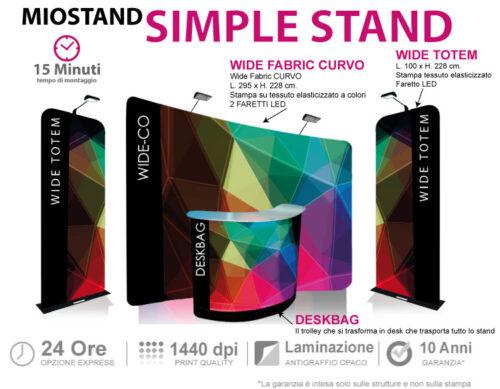 Simple Stand - lo stand che viaggia tutto in trolley