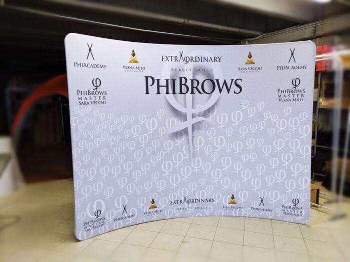 wide-curvo-300 - fondali grafici con stampa in tessuto curvo