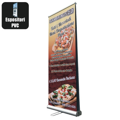Roll up bifacciale - 200x80 cm standard