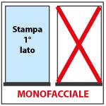 Stampa monofacciale