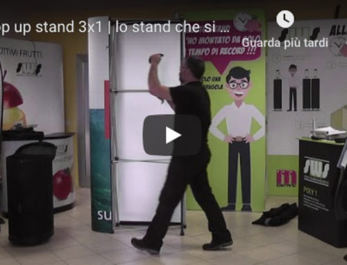 Pop up stand 3×1 | Video tutorial
