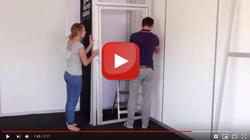 Guarda il video tutorial sul nostro miostand lo stand modulare per fiere