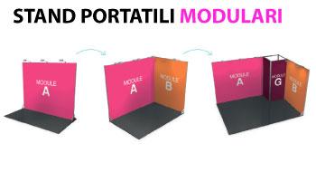 stand portatili modulari