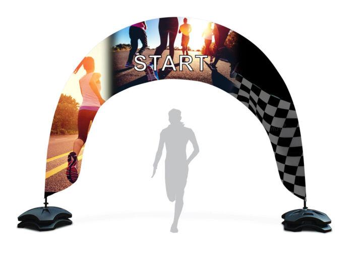 arco-pubblicitario-esterno-corsa-start