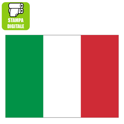 Stampa bandiera italiana