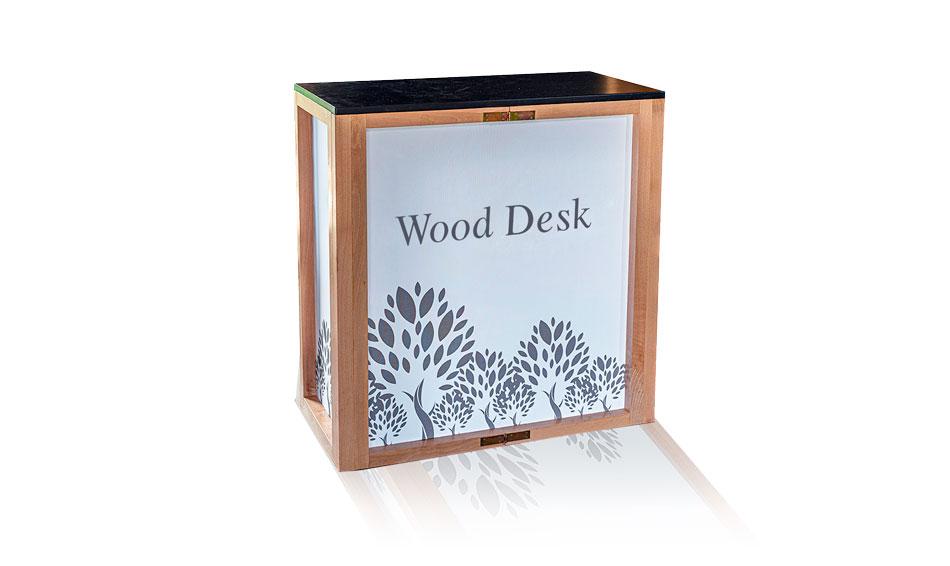 Wood desk - banchetto in legno