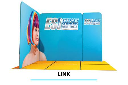 Stand LINK - gli stand modulari magnetici