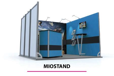 Miostand ALU - gli stand modulari su misura