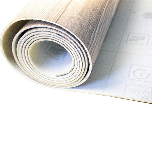 Pavimentazione in linoleum stampato personalizzato